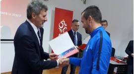 Maciej Lisiecki z dyplomem trenerskim UEFA A !!!