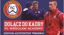 Zostań Asystentem Trenera w FC Wrocław Academy!