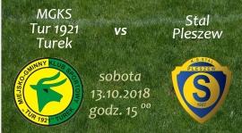 Zaproszenie na mecz Tur 1921 Turek- Stal Pleszew.