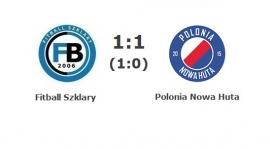 B klasa gr. II: Fitball Szklary - Polonia Nowa Huta 1:1