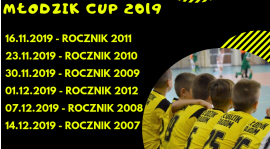 Zapraszamy na Halowe Turnieje MŁODZIK CUP 2019 !!!