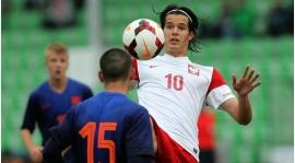 Zawada strzela w reprezentacji Polski U20