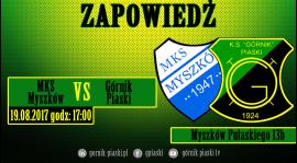 Zapowiedź: MKS Myszków - Górnik Piaski