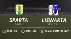 """Relacja meczu LKS """"Sparta"""" Lubliniec vs Liswarta Krzepice."""