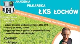 Rusza Akademia Piłkarska ŁKS Łochów!