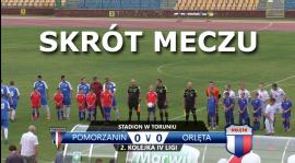 VIDEO: Skrót meczu Pomorzanin Toruń 0:0 Orlęta