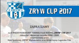 Międzynarodowy turniej Zryw Cup - 3 czerwca