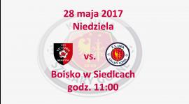 Mecz o mistrzostwo klasy B grupy 2 przeciwko drużynie Victoria Niestów-Siedlce