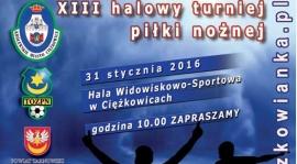 31 stycznia XIII Halowy Turniej Piłki Nożnej Seniorów - Ciężkowice 2016