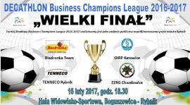 "WIELKI FINAŁ ""DECATHLON Business Champions League""... puchar już czeka :-)"