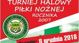 Sobota 8 grudnia Puszczykowo Turniej dla rocznika 2007