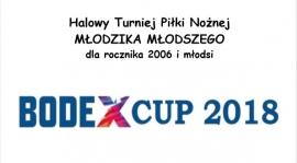 Halowy turniej piłki nożnej Młodzika młodszego BODEX CUP