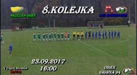 Mecz 8.Kolejki w Osieku odwołany !!! 23.09.2017