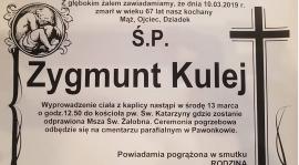 """Zarząd Klub informuje, że zmarł były Trener LKS """"Sparta"""" Lubliniec."""