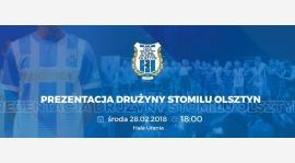 Prezentacja drużyny Stomilu Olsztyn