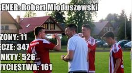 Trener Robert Mioduszewski - 11 lat w Sparcie Szepietowo