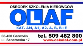 Nauka Jazdy OSK Olaf zaprasza !!!