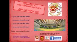 """Zapraszamy do udziału w cyklu turniejów """"MAŁA OLIMPIA CUP"""""""