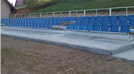 Otwarcie trybuny! Mecz GKS Gromnik - Olimpia Wojnicz