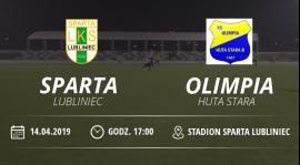"""LKS """"Sparta"""" Lubliniec vs KS Olimpia Huta Stara"""
