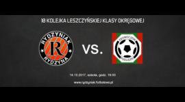 4P4S Rydzyniak Rydzyna - Zjednoczeni Pudliszki, sobota, godz. 16:00. Zapraszamy!