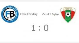 C klasa gr. I: Fitball Szklary - Orzeł II Bębło 1:0