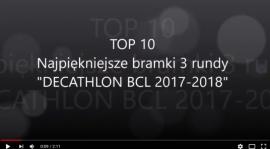 """TOP10 - Najpiękniejszych bramek 3 rundy """"DECATHLON BCL"""" - video"""