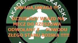 Wyjazd na mecz ligowy z AP Ziomki Rzeszów