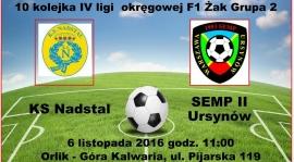 Wideorelacja z meczu KS Nadstal - KS Semp II