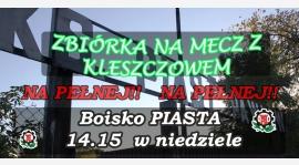 Zbiórka na Niedzielny mecz ligowy!