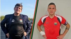 Grzegorz Jeromin i Michał Piotrowski po meczu CWZS II - UNIA (wideo)