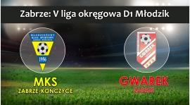 V LM D1 I MKS Zabrze-Kończyce - SKS GWAREK ZABRZE 0:0 (0:0)