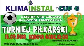 Turniej piłkarski KLIMAINSTAL CUP VI - ruszają zapisy !