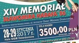 WYNIKI DRUGIEGO DNIA  MEMORIAŁU SŁAWOMIRA HARAFA
