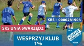 Wspomóż nasz Klub - oddaj swój 1% podatku ! ! !