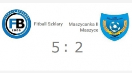 C klasa gr I: Fitball Szklary - Maszycanka II Maszyce 5:2
