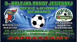 Przed nami 9 kolejka rozgrywek ligowych - Rewanż