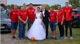 Bogusz Kapliński na ślubnym kobiercu