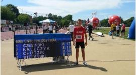 Czesiu mistrzem Polski na 60 w biegu na 60 metrów