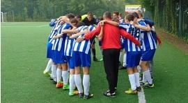 Młodzi piłkarze grali w rozgrywkach ligowych