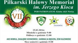 VII Memoriał Jerzego KlocaMemo