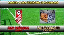 IV LTrC2 I SKS GWAREK ZABRZE - LKS Naprzód Poniszowice 24:0