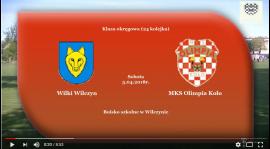 SENIORZY: Wilki Wilczyn - MKS Olimpia Koło 5.05.2018 [VIDEO]