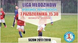 Młodzicy grali z Pogonią Oleśnica, a teraz pojadą do AP Oleśnicy
