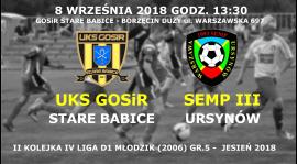 Powołania na 2-gą kolejkę IV ligi MZPN (jesień 2018)