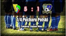 San w półfinale okręgowego Pucharu Polski! Wideo