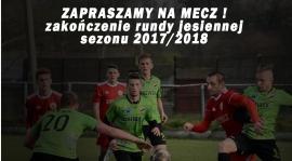 Zakończenie rundy jesiennej - mecz z Lechią Strawczyn