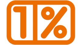 1 % w 2018 r.