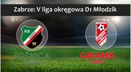 V LMD1 I KS Sośnica Gliwice - SKS GWAREK ZABRZE 0:2