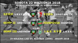 Powołania na 4-tą kolejkę ligi MZPN (jesień 2018)